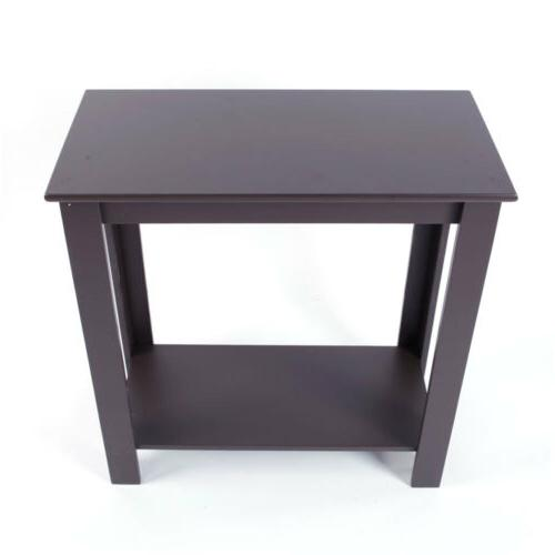Narrow Chair Side Table End Furniture