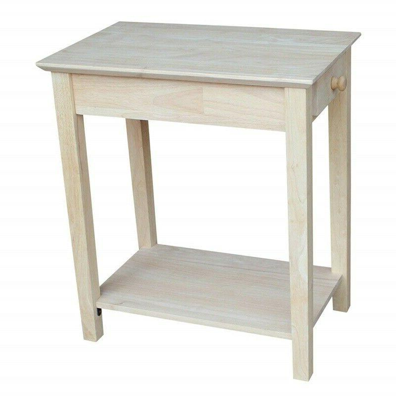 narrow side table for small spaces end
