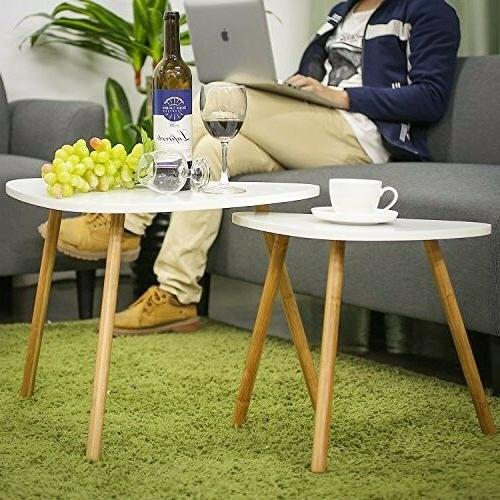 Modern Side Table Coffee End Tables Nesting Decor Home and O