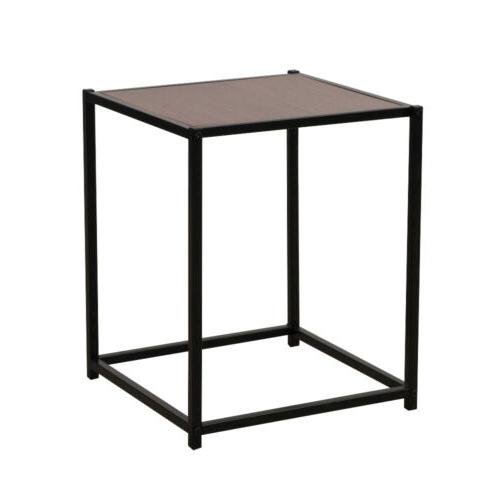 Single Layer Square Side End Table Night Stand Coffee Table
