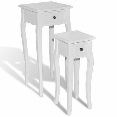 new nesting side table set 2 pieces