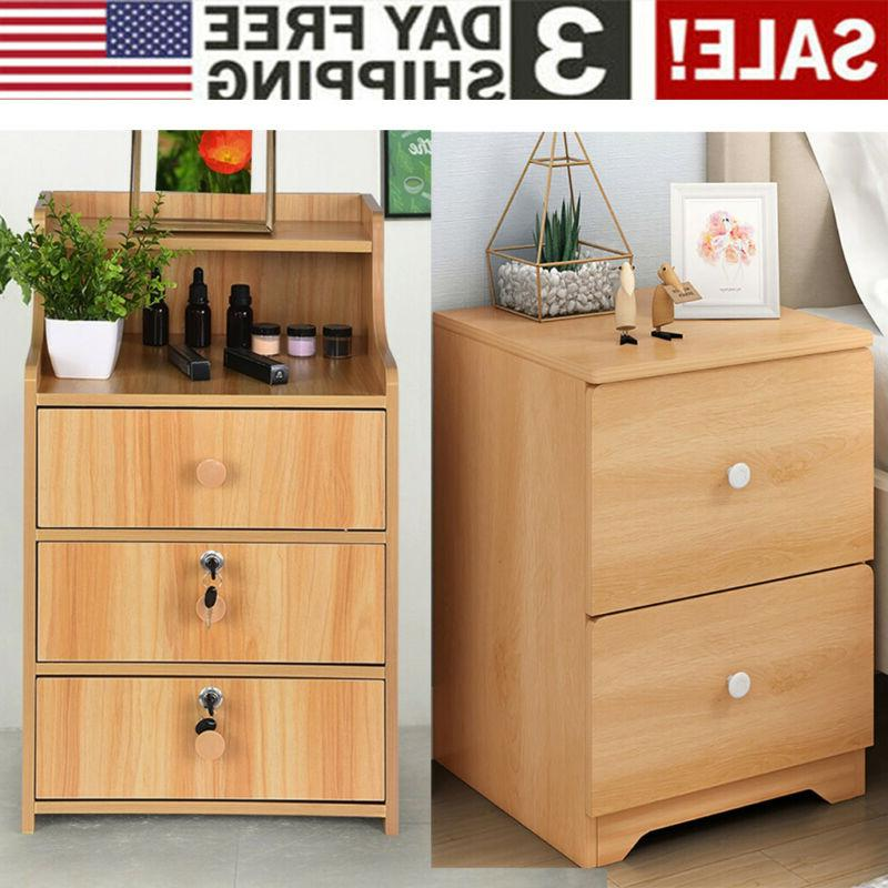nightstand bedside end table bedroom side stand