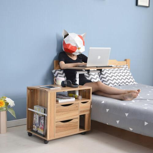 Over Bed Desk Table With Computer Decor US