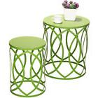 Small Patio Table Set Nesting Outdoor Garden Stool Indoor Si
