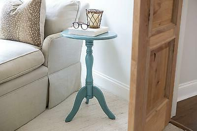 End Accent Pedestal Stand Small Decor