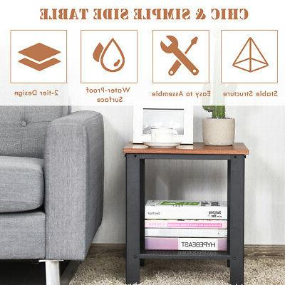 Set End Table 2Tier Table