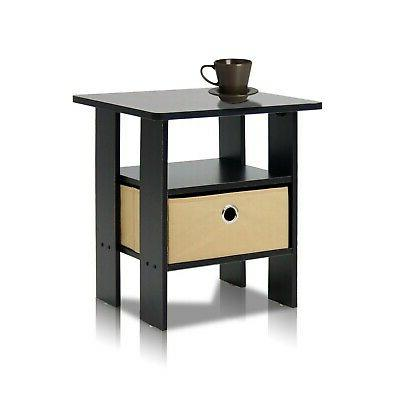 Side Table For Spaces End Tables Night Accent Wood
