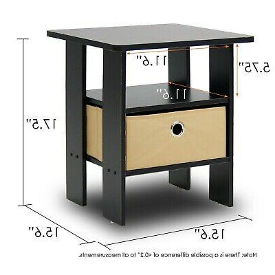 Side Table Spaces Tables Stand Wood