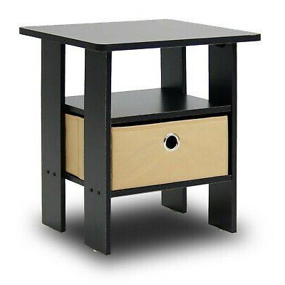 Side For Spaces Narrow Tables Accent Wood