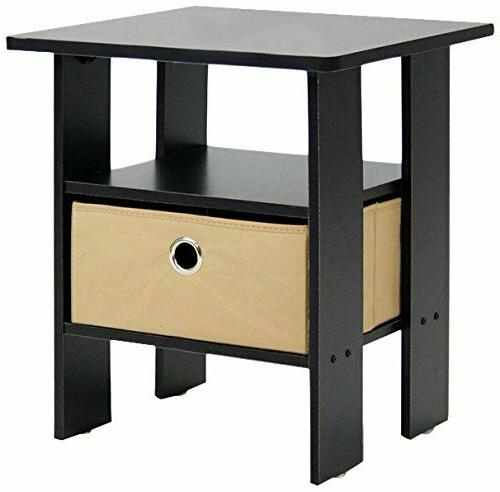 Side Small Spaces Narrow Tables Night Stand Accent Wood