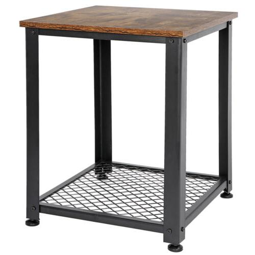 Side Tables End For Living Room Industrial
