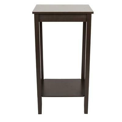 simple design multipurpose tall side table wooden