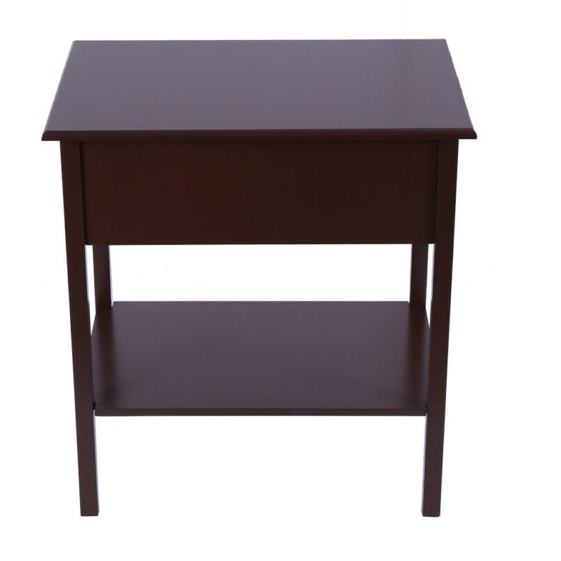 Small Table Narrow Side Furniture Night Stand Drawer