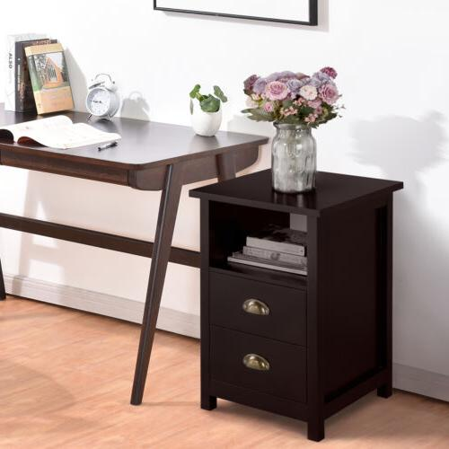 Small Storage Living Furniture Nightstand with Drawer