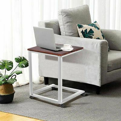 Sofa PC Stand Beside End Table Tray