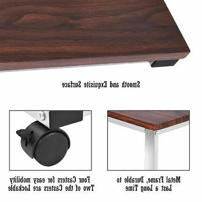Sofa Side PC Stand End Table Coffee Tray
