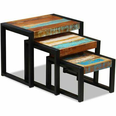 Nesting Coffee Table 3 Piece Tables✓