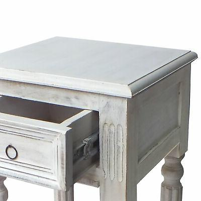 Spacious Side Table with