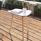 Three Legs Modern Coffee End Side Table Pine Wood Tea Table