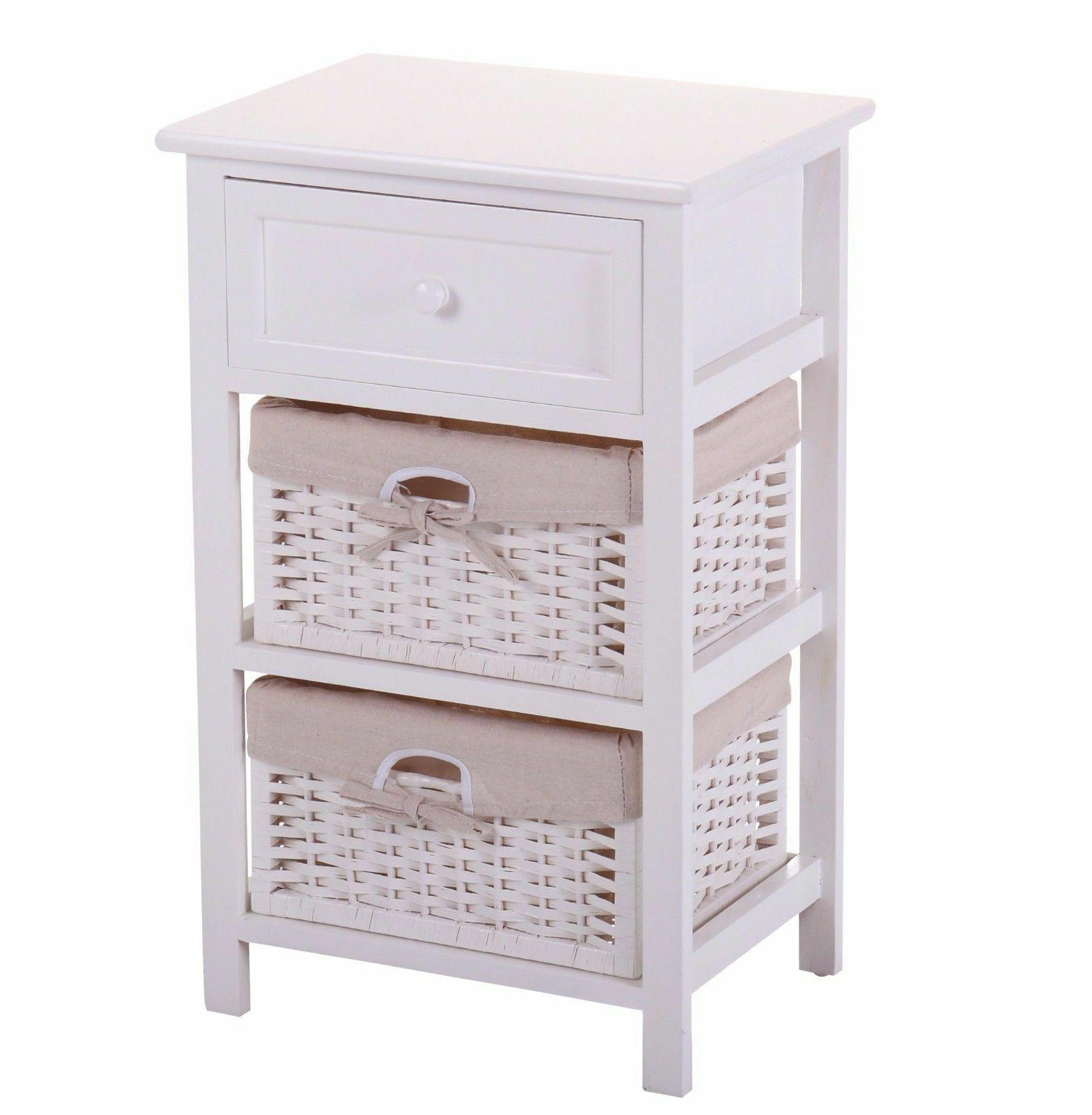White Wood Table Furniture/Side Table