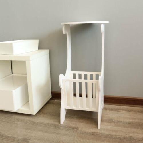 White Small Side Coffee Bedroom NEW