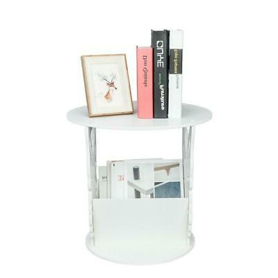 wite side end table for small spaces