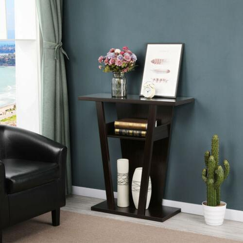 Console Table Accent Sofa Side End Stand Entry Way Hallway M