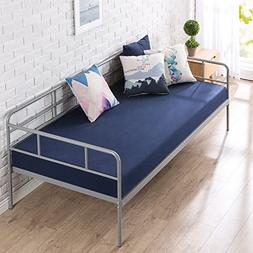 Zinus 39 Inch Leo Twin Daybed Frame/Premium Steel Slat Suppo