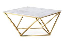 TOV Furniture The Leopold Collection Modern Style Marble Top