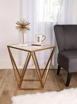 maia metal side accent table