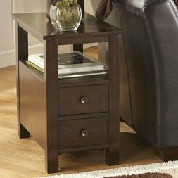 Signature Design By Ashley Marion Brown Chair Side End Table