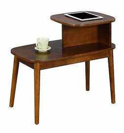 Convenience Concepts Maxwell Mid Century 2 Tier End Table R6