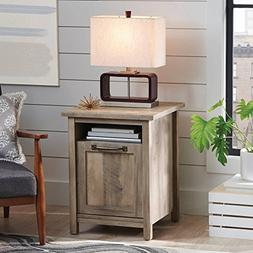 MODERN FARMHOUSE SIDE TABLE LIVING ROOM BEDROOM HOME RUSTIC