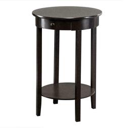 Modern Round Coffee End Table Sofa Side Table Furniture Home