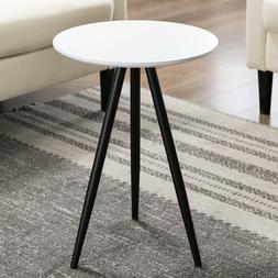 Modern Round Coffee Table Sofa Side End Table Living Room Ho