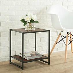 Zinus Modern Studio Collection 15 Inch Square Side Table / E
