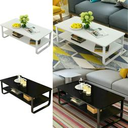 Modern Wood Coffee Table Side/ End Table Living Room Tea Des