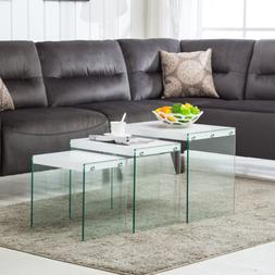Nest of 3 Coffee Table/Side/End Table Living Room Furniture