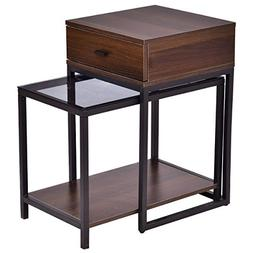 Nesting Table Coffee Table Side Table End Table Metal Frame