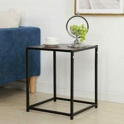 NEW End Table Storage Accent Modern Side Table Living Room F