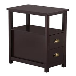 Nightstand Sofa Bed Side Table Bedroom Coffee Chair Stand En