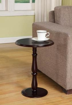 Kings Brand Furniture - Dark Cherry Finish Wood Plant Stand