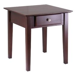 Winsome Wood 94821 Rochester Occasional Table, Antique Walnu