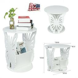 Round Butterfly Coffee Tea Side Sofa Table Living Room Furni