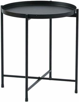 Round Coffee Table Sofa Side Small Night Stand End Table Met
