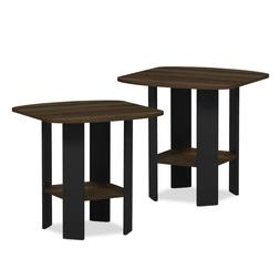 Set of 2 Accent Side Table Sofa End Table Night Stand Coffee
