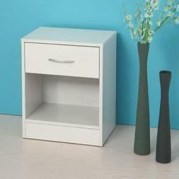Set Of  2 Nightstand End Side Table Bedroom Home Storage Bed