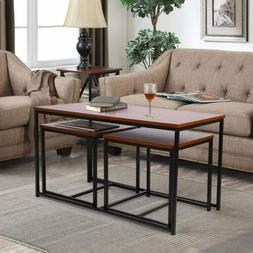 Set of 3  Side End Table Tea Coffee Table Living Room Home F