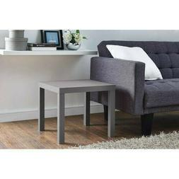 Side End Wooden Square Table Bedside Couch Coffee Tea Living