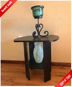 Side Table For Small Spaces Narrow End Tables Bedside Night